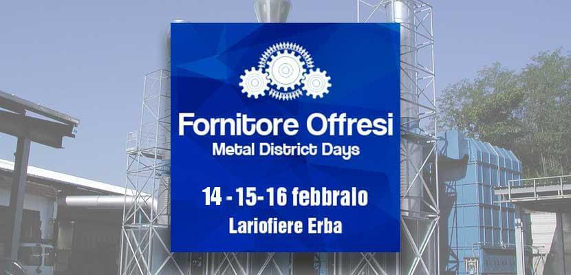 """Fornitore Offresi"" Fair -Erba (CO) 14-16 February 2019: SO.TEC will be one of the protagonists. Hall C Stand 420-421"