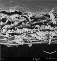 media filtranti in nanofibra